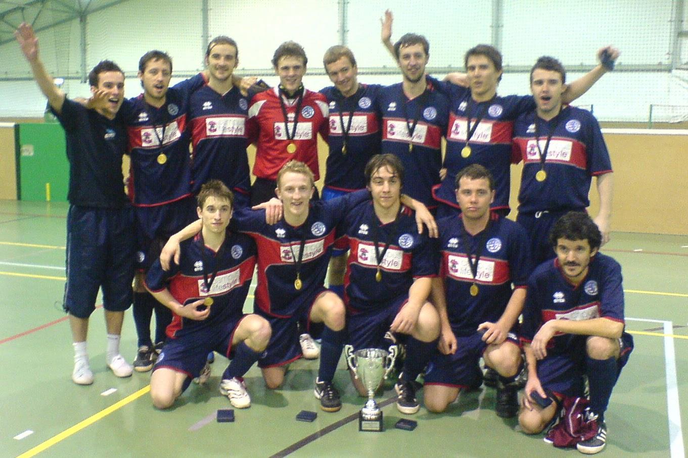 Boro Futsal champions of the York Futsal Open 2007