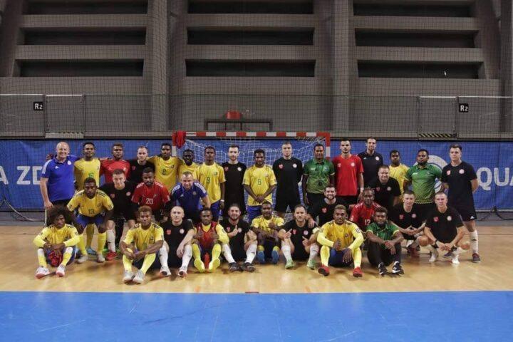 World Cup training camp with Solomon Islands Kurukuru